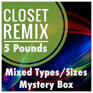 5 Pound Closet Remix Mystery Box - Mixed Sizes